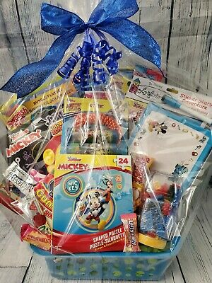 Mickey Easter Basket (Mickey Mouse Deluxe Gift Basket for Birthdays, Easter, or Other)