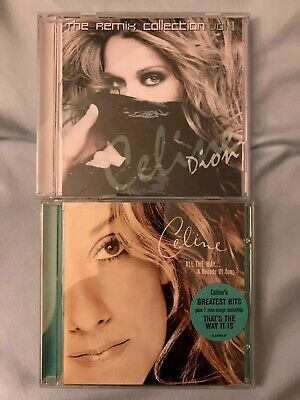 Celine Dion HITS CD Free Best of Remix Collection I DROVE ALL NIGHT, I'M
