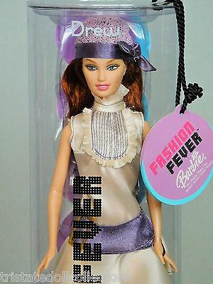 DREW (LARA FM) FASHION FEVER 2004 Barbie Doll (Ivory Satin 20s Style)_H0655_NRFB