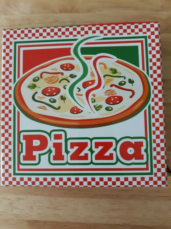 Pizza Stationary Set - Open Box But New Condition