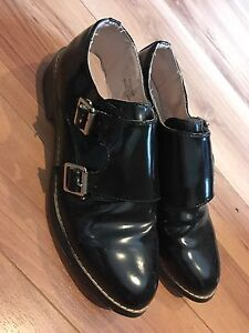 Top Shop Double Monk Strap shoes