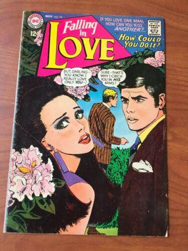 Falling in Love #95 DC Comics Romance 1967 VG+