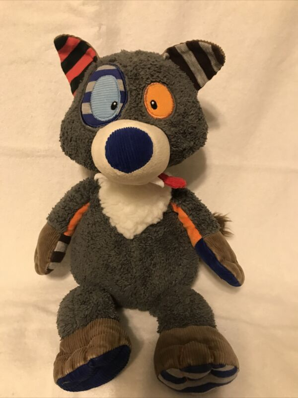 Rare Mary Meyer Fox Patchwork Lovey Stuffed Animal 18 inches
