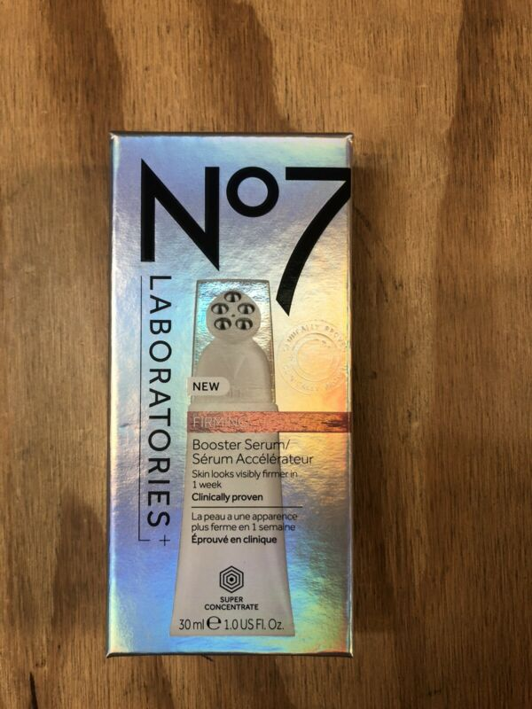 Brand NEw No7 Labarotories Firming Booster Serum-Super Concentrate 30 mL/1 fl oz