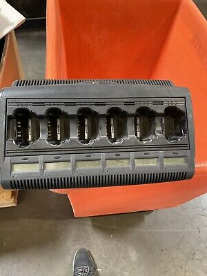 Motorola Impres Wpln4127ar 6 Unit Adaptive Charger Base Charging Station V3.0