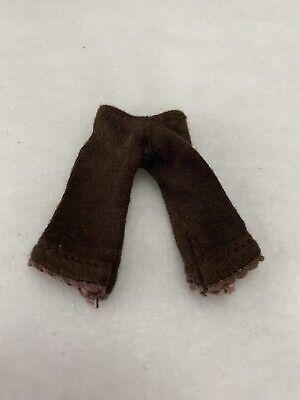 """Bratz Girlz Kidz 7"""" Cloe Doll Brown Cropped Leggings Pants"""