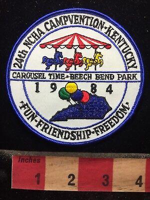 1984 BEECH BEND PARK AMUSEMENT PARK NCHA CAMPVENTION Kentucky Patch 69NN