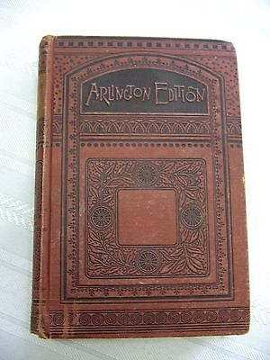 Antique c. 1890 Book THE SHADOW OF A SIN, Arlington Edition by Charlotte Breame