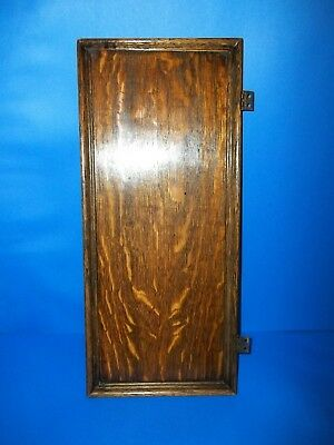 Singer Sewing Machine Drawing Room Cabinet Tiger Oak Right Side Access Door