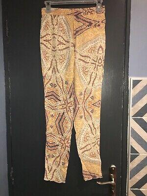 Pantalon fluide zara s=36