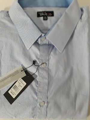 Galaxy by Harvic men's 2XL Slim Fit cotton blend blue...