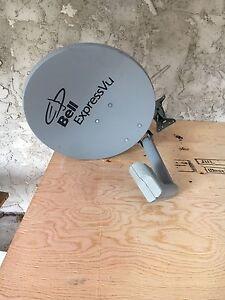 Bell Satellite TV dish