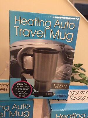 - NEW 16 oz heating Auto travel  coffee mug with 4 foot cord