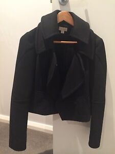 Witchery black wool jacket sz 6 Trigg Stirling Area Preview