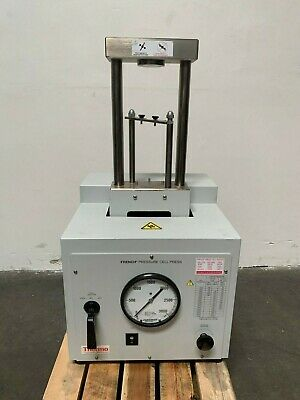 Thermo Electron French Press Cell Disrupter Fa-078a 120v