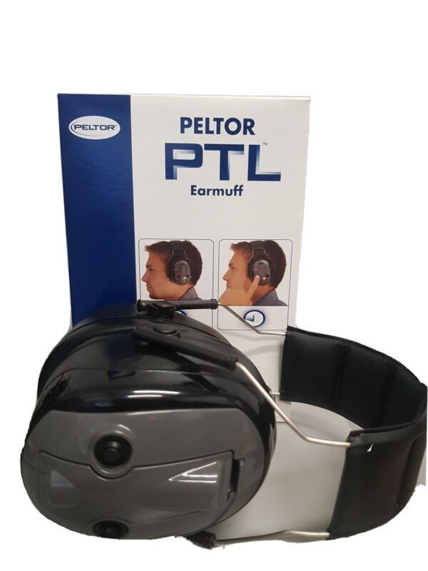 3M™ PELTOR™ PTL Earmuffs H7A-PTL, Headband Headset