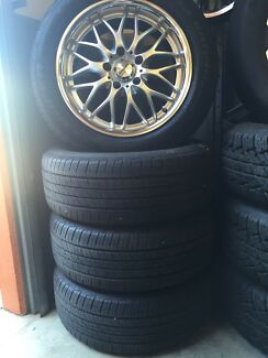 "17"" Speedy Wheels with Tyres to suit Commodore"