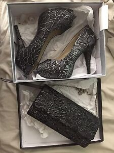 Size 9 Ladies Heels + Matching Bag Rasmussen Townsville Surrounds Preview