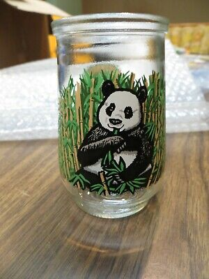 VTG Welch's Jelly Glass North American Endangered Species Collection Giant Panda