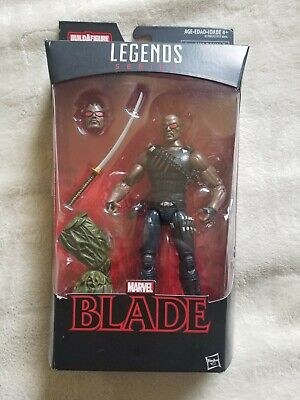 "Blade 6"" Marvel Legends Action Figure Man-Thing Series NEW Wesley Snipes"
