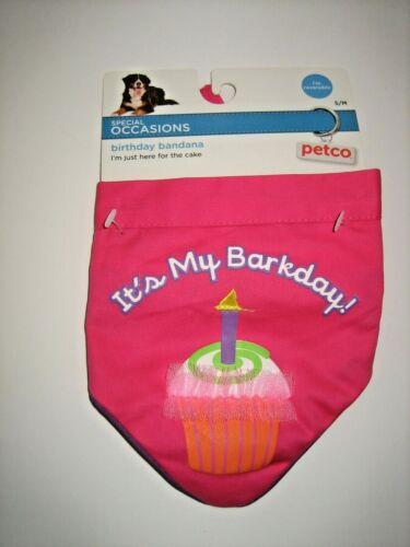Pet Birthday Reversible Bandana - S/M