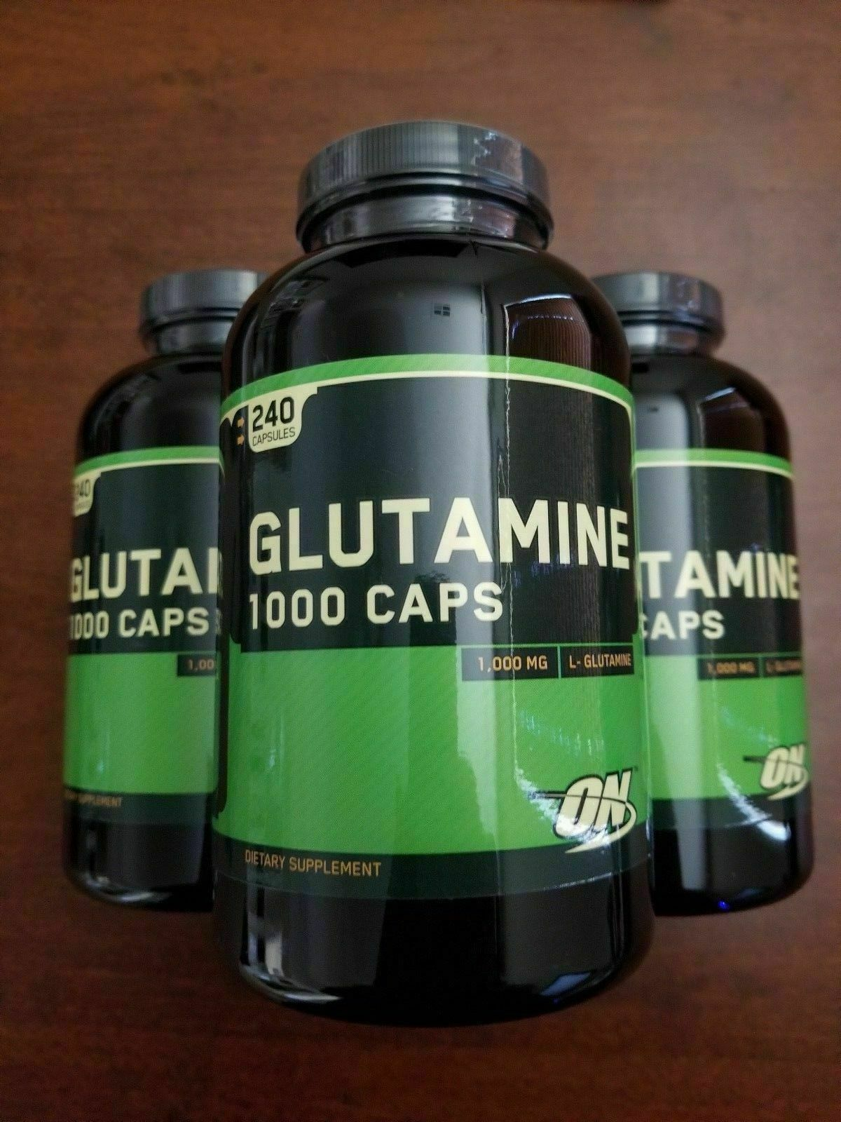 **BLOWOUT** Optimum Nutrition GLUTAMINE 1000mg - 240 caps