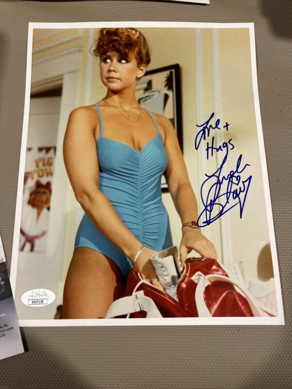 Autographed Linda Blair Signed 8x10 Photo Jsa Coa The Exorcist
