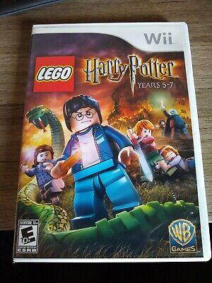 LEGO Harry Potter: Years 5-7 (Nintendo Wii, 2011) complete and tested