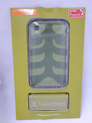 SwitchEasy Capsule Rebel Dual Layer Case Cover for iPhone 3G Olive Green NEW - Switcheasy Capsule Case