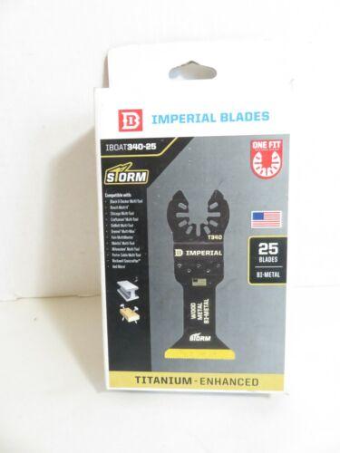 Imperial Blades IBoat 340-25 Titanium Enhanced B1-Metal