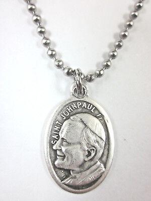 St Raymond Nonnatus Medal Pendant Necklace 24 Ball Chain Gift Box /& Prayer Card
