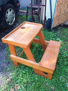 Hand Crafted Toddlers School Desk