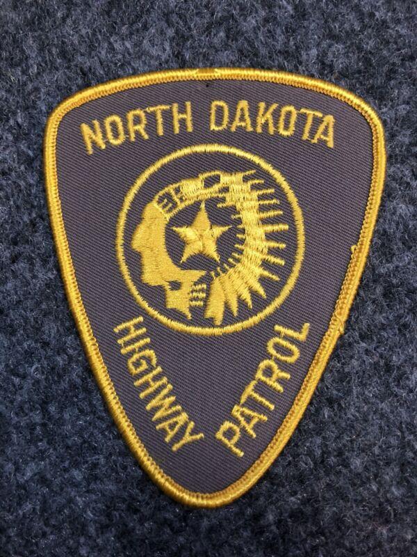 North Dakota Highway Patrol Police patch Trooper ND