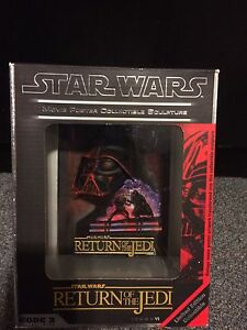 Star Wars Return of the Jedi Movie Poster Sculpture