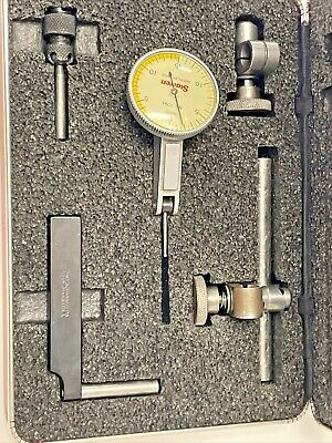 Starrett 709a Dial Test Indicator Fully Jeweled Carbide Point .0005