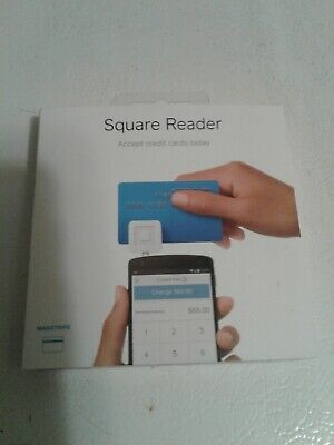 Nib Square Credit Card Reader For Apple Iphone - Ipad - Android 7913