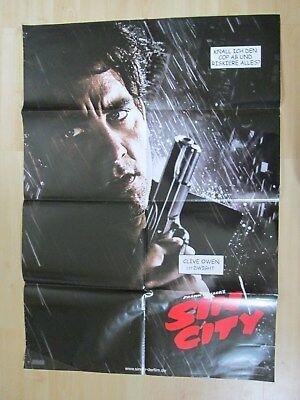 Filmplakat - Sin City Portrait Plakat Clive Owens