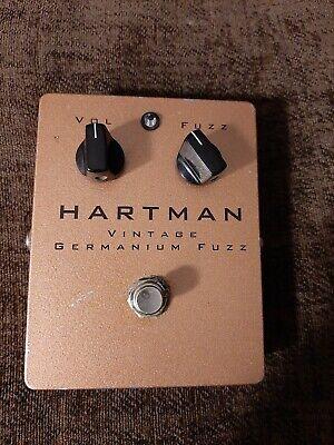 Hartman Vintage Geranium Fuzz Pedal