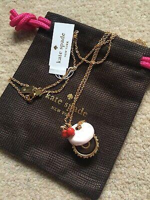 Kate Spade New York Magnolia Bakery Mini Cupcake Pendant Necklace LimitedEdition