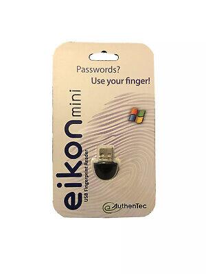 Box of Eikon Black USB Swipe Mini Fingerprint Readers (180 pcs)