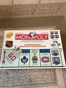 Collectors addition NHL monopoly set