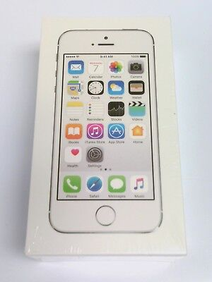 Apple iPhone 5s 16GB Silver (Straight Talk) BRAND NEW SEALED #8490