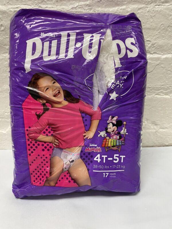 Huggies Pull-Ups Training Pants - Girls - 4T-5T-17 CT DISNEY MINNIE MOUSE  Read