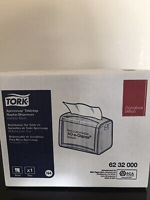 Tork Xpressnap Signature Tabletop Napkin Dispenser New