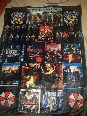 Resident evil blanket fleece every resident evil Ultimate fan dream 30x40 - Every Costume
