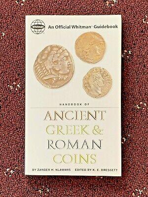 NEW WHITMAN HANDBOOK OF ANCIENT GREEK & ROMAN COINS BOOK ZANDER KLAWANS