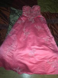 Couture size 4 prom dress