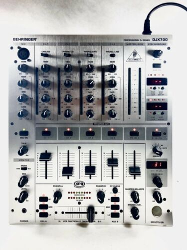 🔥 Behringer DJX700 5 Channel Professional DJ Mixer Board 🎧 Parts / Repair. Buy it now for 44.95