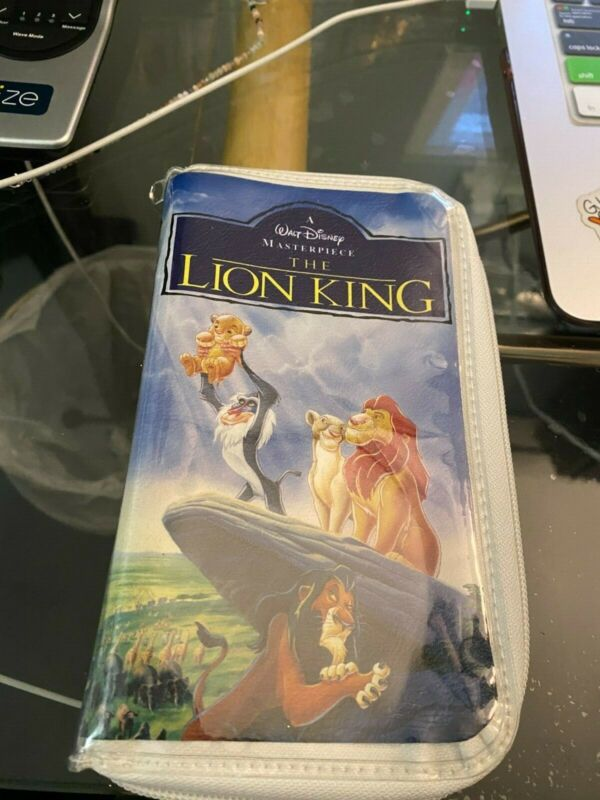 The Lion King VHS Wallet