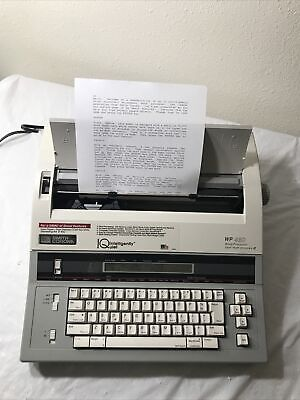 Smith Corona Wp 48d Word Processor Typewriter Spell Right Iq Working Great